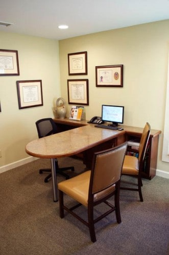 Consult Desk - Williams Dentistry in Asheboro