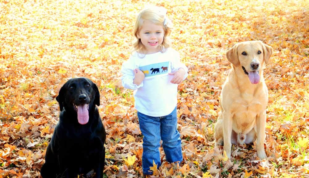 daughter-and-dogs